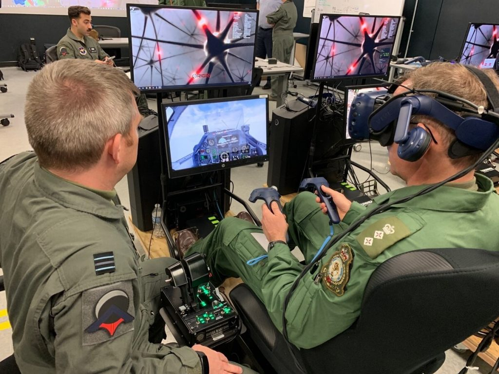 Virtual Reality Training for military personel.
