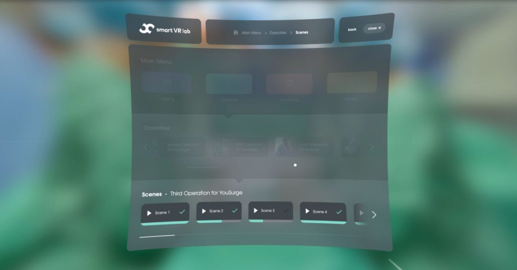 Smart VR Lab Kiosk Mode: an example of a user friendly Virtual Reality Content Management System