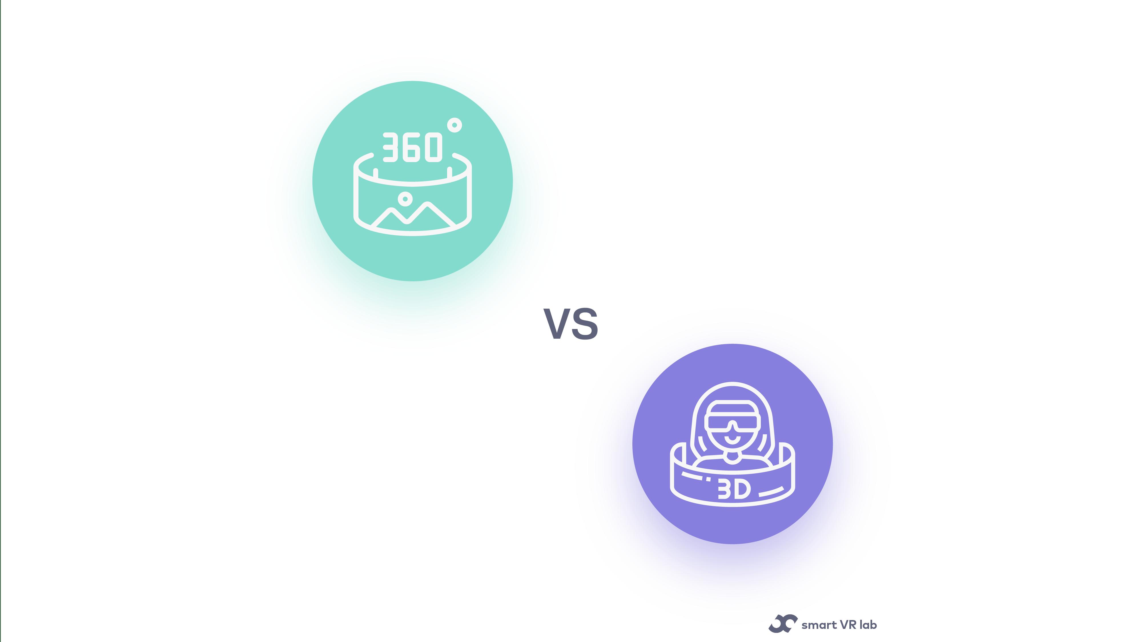 360 video vs 3D VR