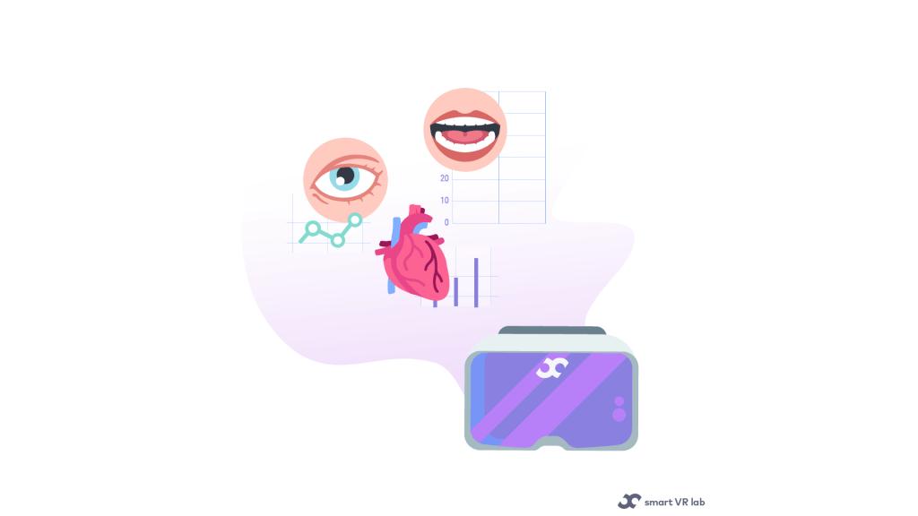 Biometric dataa in VR